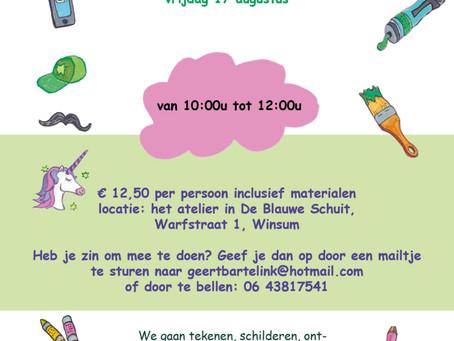 Creatieve zomerworkshops voor kinderen