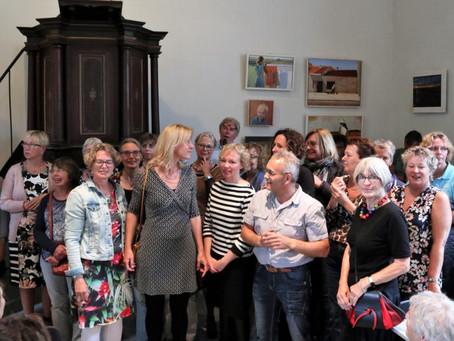 Drukbezochte opening expositie cursisten