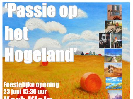 Expositie cursisten 'Passie op het Hogeland'.