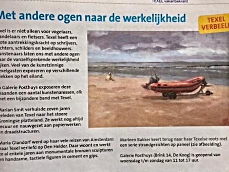 Expositie 'Texel verbeeld' in Galerie Posthuys.