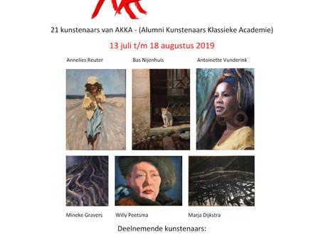 Expositie 'Zomerstorm' in Galerie Drentsche Aa
