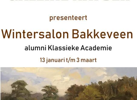 'Wintersalon'in Galerie Natoer, Bakkeveen.
