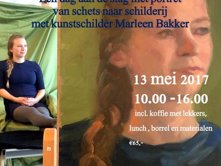 Nieuwe workshop 'Portret' 17 mei a.s.