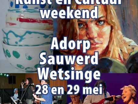Kunst- en cultuurroute Adorp-Sauwerd-Wetsinge