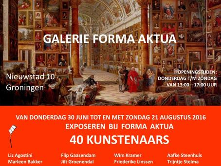 Zomersalon in galerie Forma Aktua, Groningen