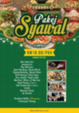 Katering Raya Deliraa - Pakej Syawal