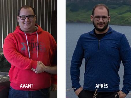 Client du mois ZR : une perte de poids de 100 lbs.