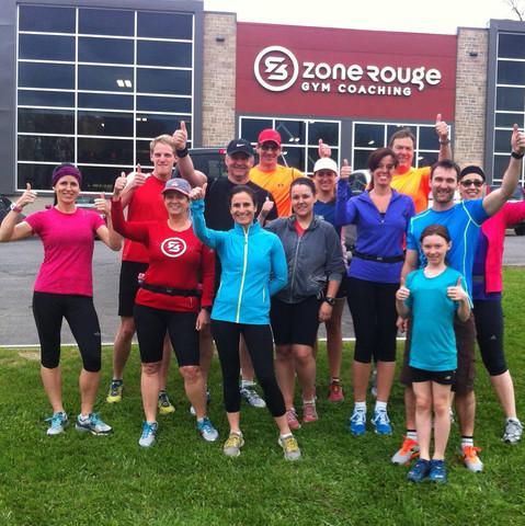 Club de course Zone Rouge