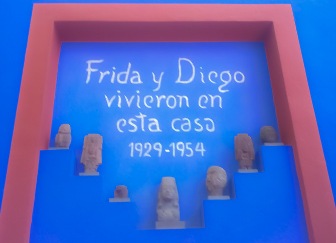 Casa Azul - Frida Kahlo Museum (Mexico City)