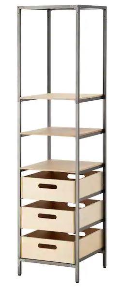 IKEA-étagères_colonne_VEBEROD_45x45x181.
