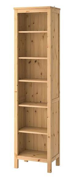 IKEA-étagères_colonne_bois_HEMNES_49x37x