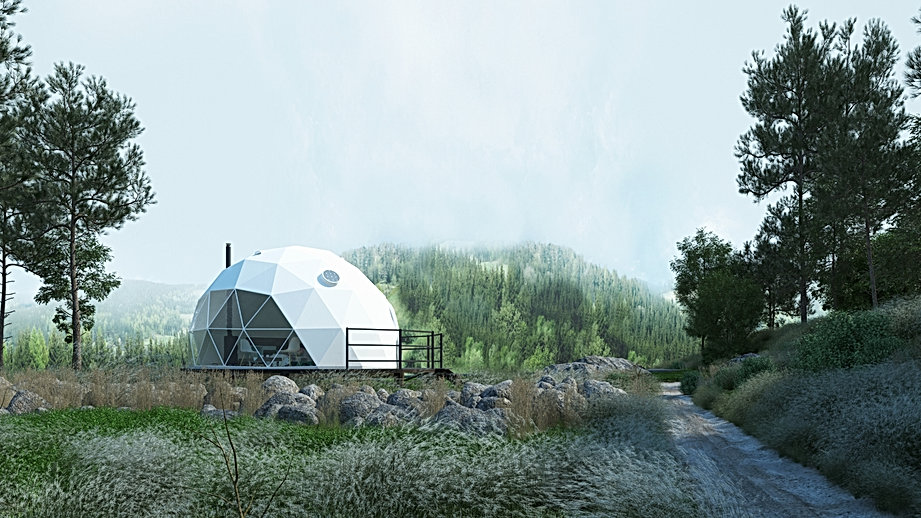F.Domes Glamping Dome in the forest.jpg