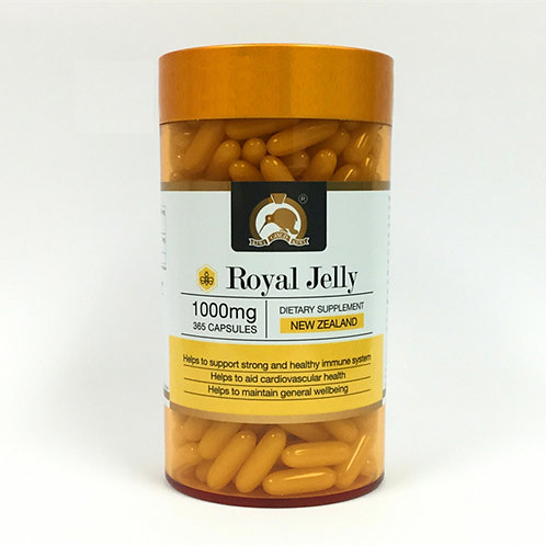 Royal Jelly 1000mg 365 capsules