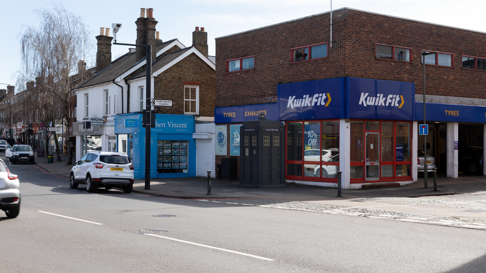 P26 | Ghost Monument | High St, West Wickham BR4