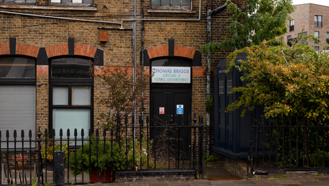 G17 | Ghost Monument | Southgate Road, N1