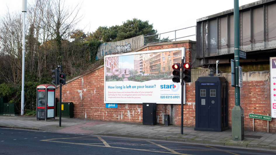 P20 | Ghost Monument | Bromley Road, BR2