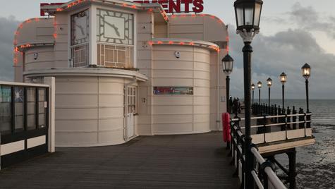 Worthing Pier at twilight