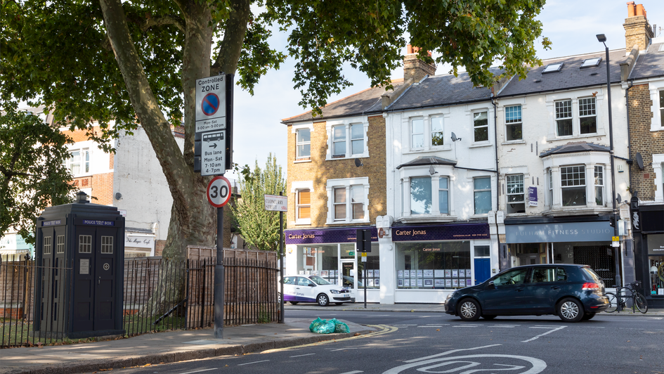 B3 | Ghost Monument | Cloncurry Street, SW6