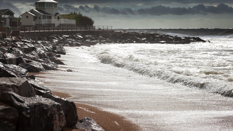 Storm at Steephill Cove