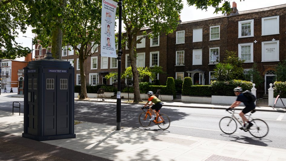 B2 | Ghost Monument | Parsons Green, SW6