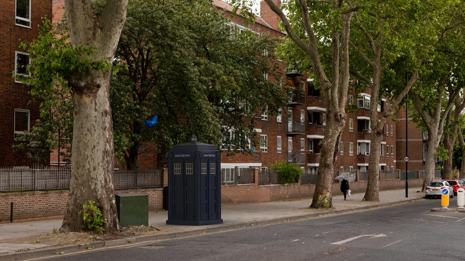 G19   Ghost Monument   Queensbridge Road, E8