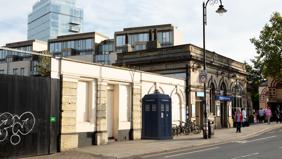 B5 | Ghost Monument | West Brompton, SW5