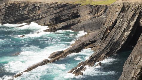 Loop Head cliffs, Kilbaha
