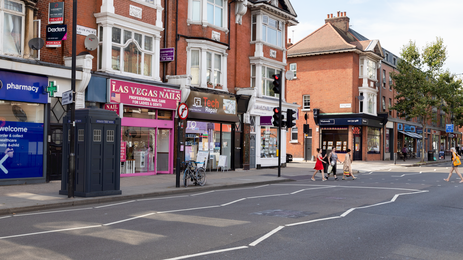 F8 | Ghost Monument | Fulham Palace Road, W6
