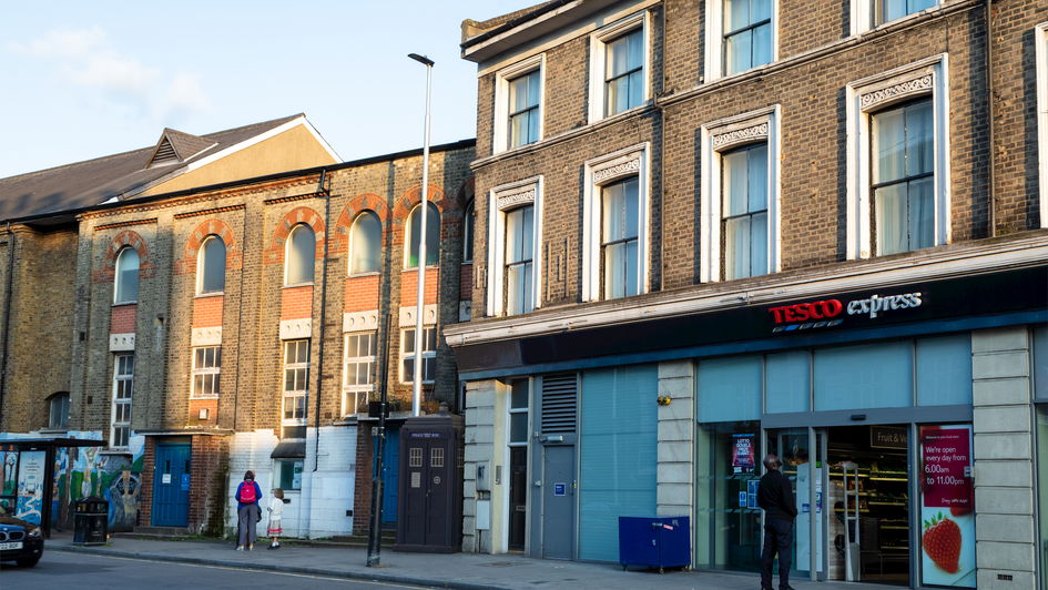 L6 | Ghost Monument | Wandsworth Road, SW8