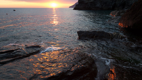 Corniglia sunset