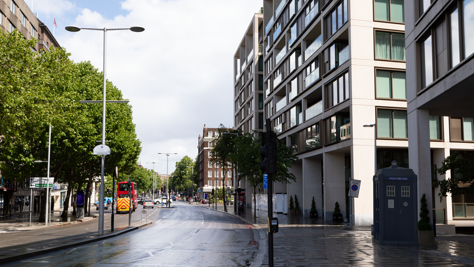 F9 | Ghost Monument | Hammersmith Road, W14