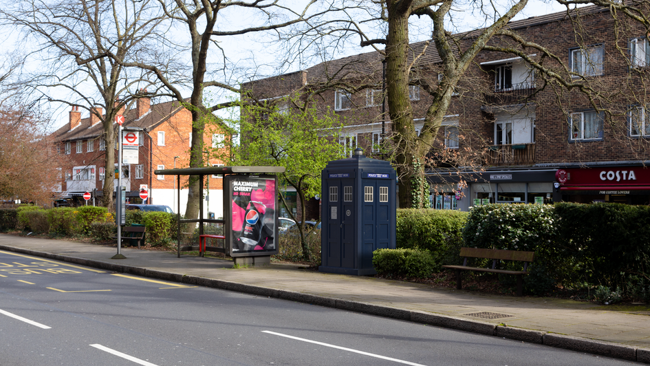 P19 | Ghost Monument | Westmoreland Road, BR2