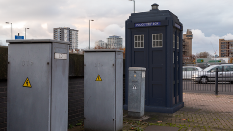 H15 | Ghost Monument | East India Dock Road, E14