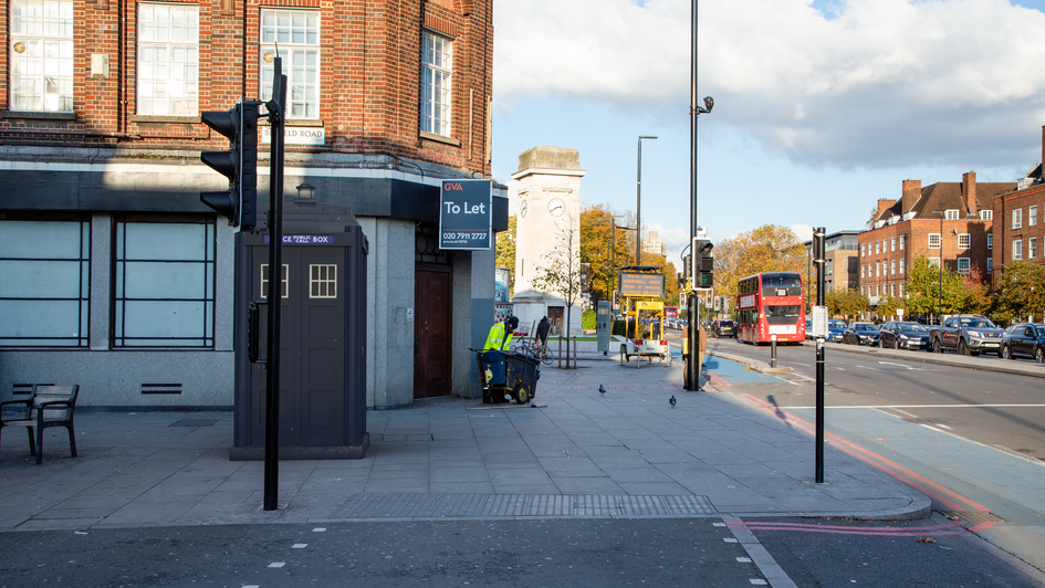 L3 | Ghost Monument | South Lambeth Road, SW4
