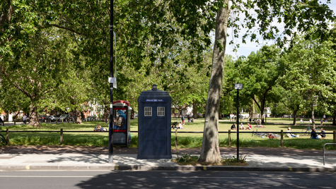 B2   Ghost Monument   Parsons Green, SW6