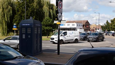 S14   Ghost Monument   Kingsbury Road, NW9