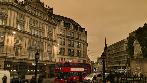 Storm Ophelia over London