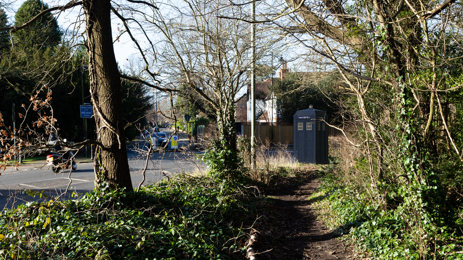 P7 | Ghost Monument | St Paul's Cray Road, BR7