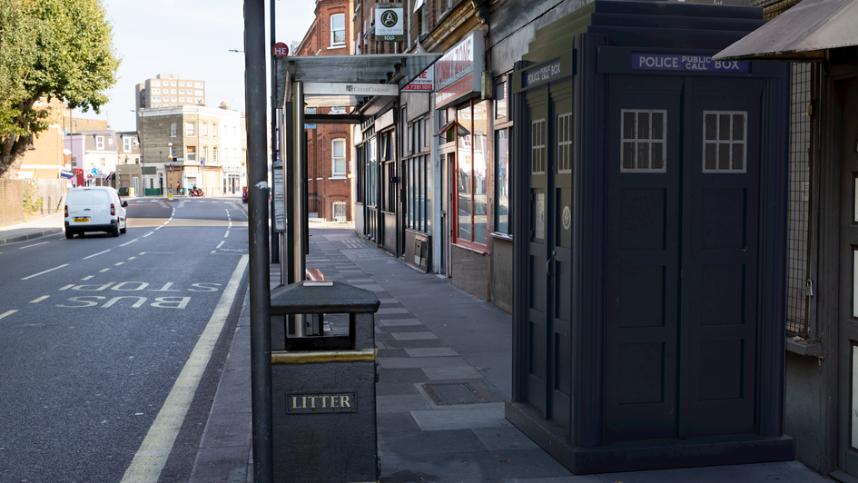 B15 | Ghost Monument | Lillie Road, SW6