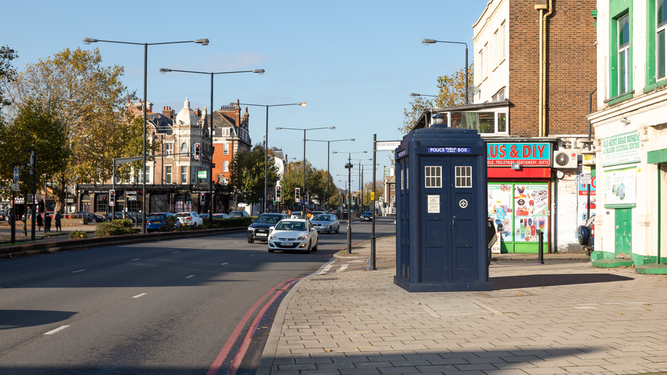L11 | Ghost Monument | Old Kent Road, SE1