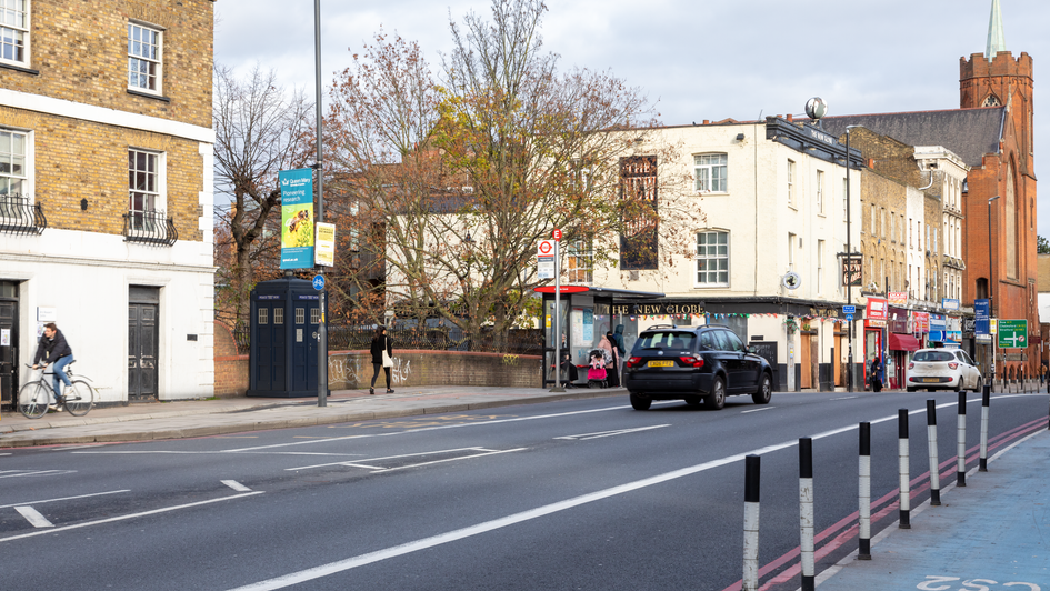 H9 | Ghost Monument | Mile End Road, E3