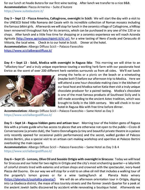 Italy - Sicily wine tourSept 2021 page 2