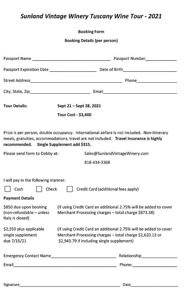 Italy - Tuscany Booking Form 2021.jpg