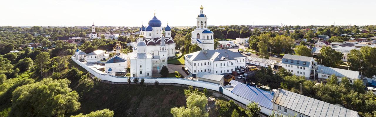 Боголюбский монастырь. Боголюбово