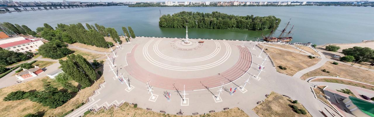 Адмиралтейская площадь. Воронеж