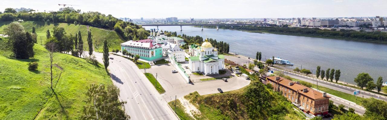 Благовещенский мужской монастырь. Нижний Новгород