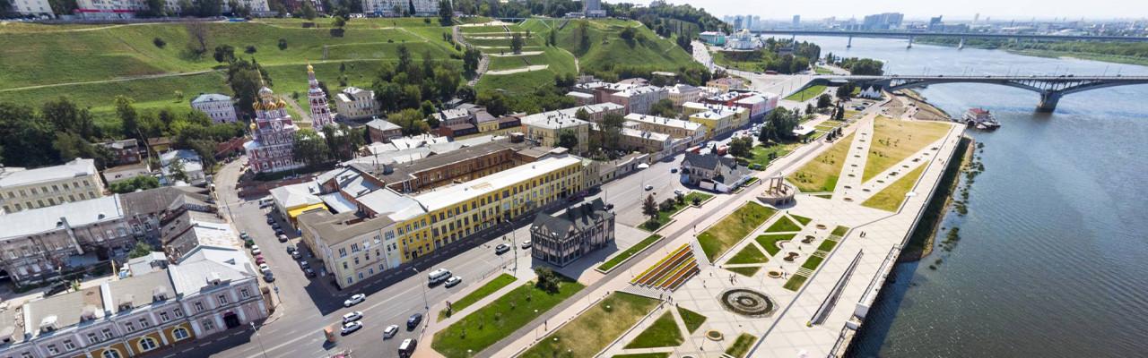 Нижневолжская набережная. Нижний Новгород