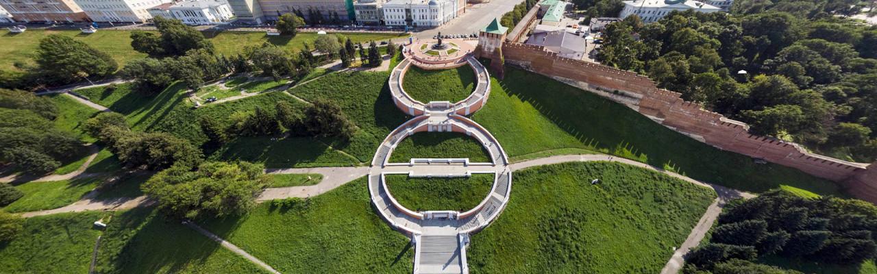 Чкаловская лестница. Нижний Новгород