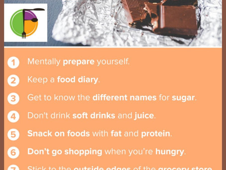 Try one new strategy a day to break your sugar addiction
