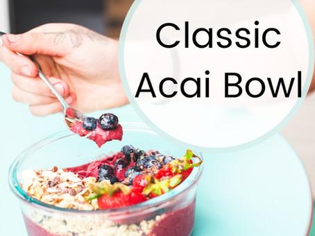 The Classic Acai Bowl